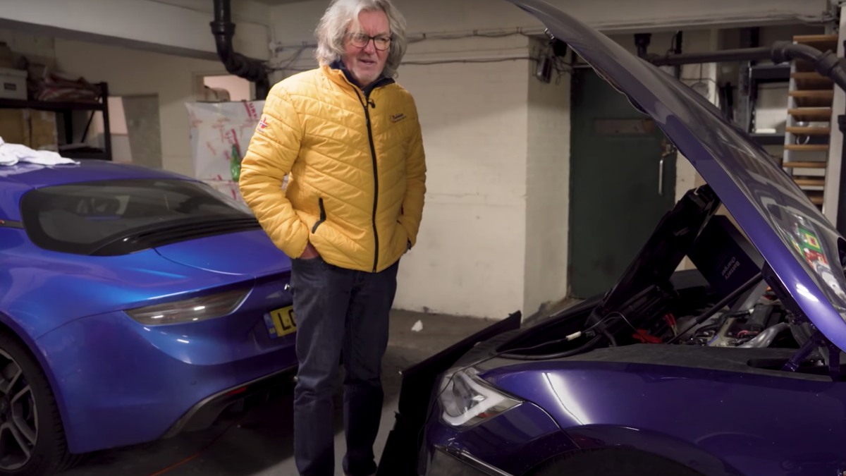 James May Had To Dismantle His Tesla Model S To Charge A Battery