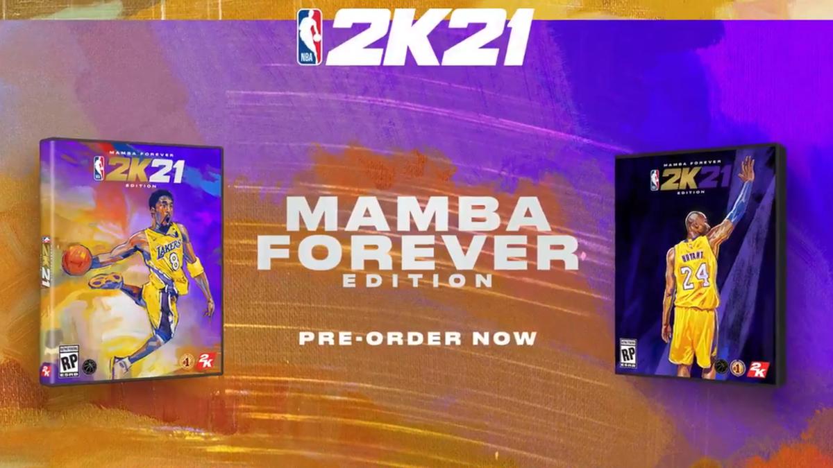 Kobe Bryant Announced As NBA 2K21 Cover Athlete