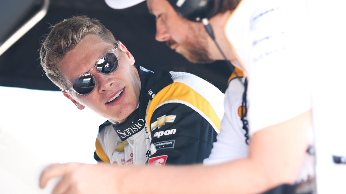 Josef Newgarden gewinnt das IndyCar-Rennen in Gateway nach einem Unfall