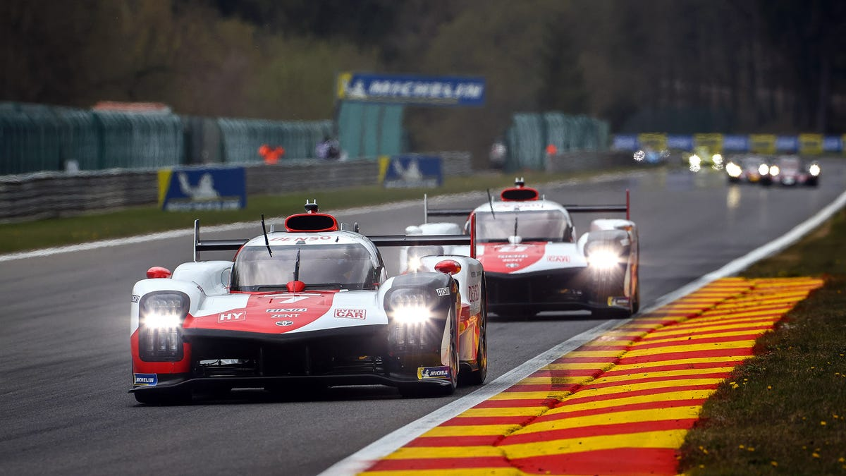 Toyota Hypercar Takes Pole At Spa 6 Hours Despite Dismal Debut