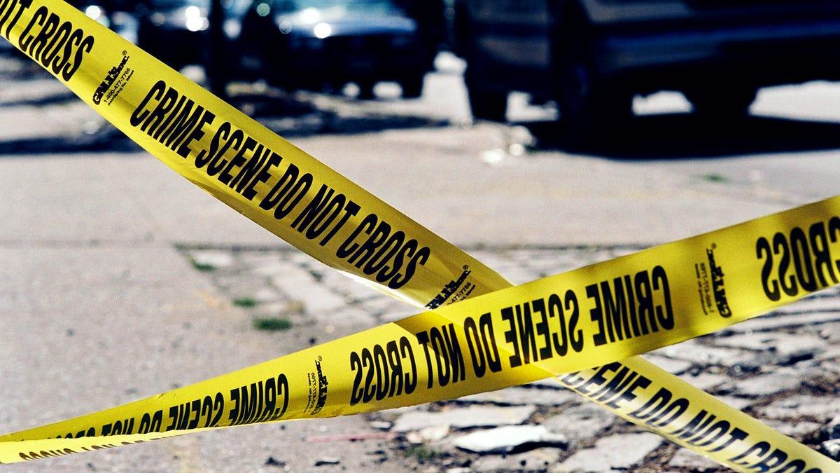 Schwarzen Mann Erschossen Von Der Polizei Nach Der Passenden Beschreibung Für Covid-19