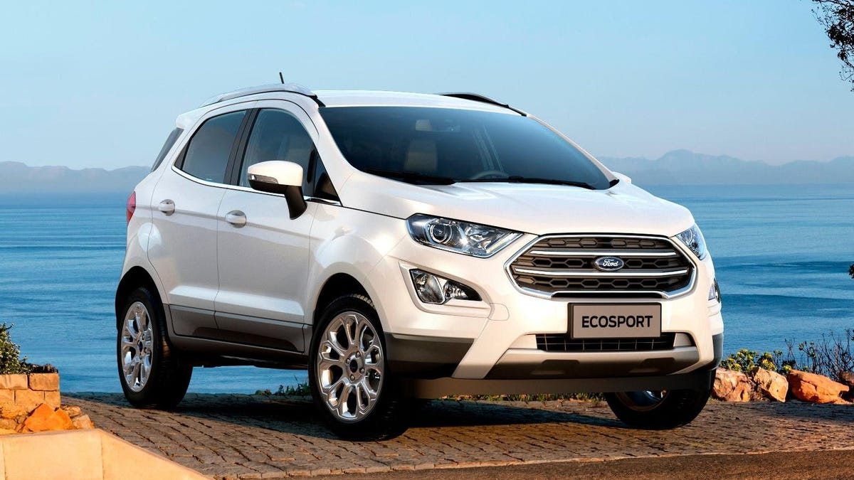 Tot, in den USA: Ford EcoSport€