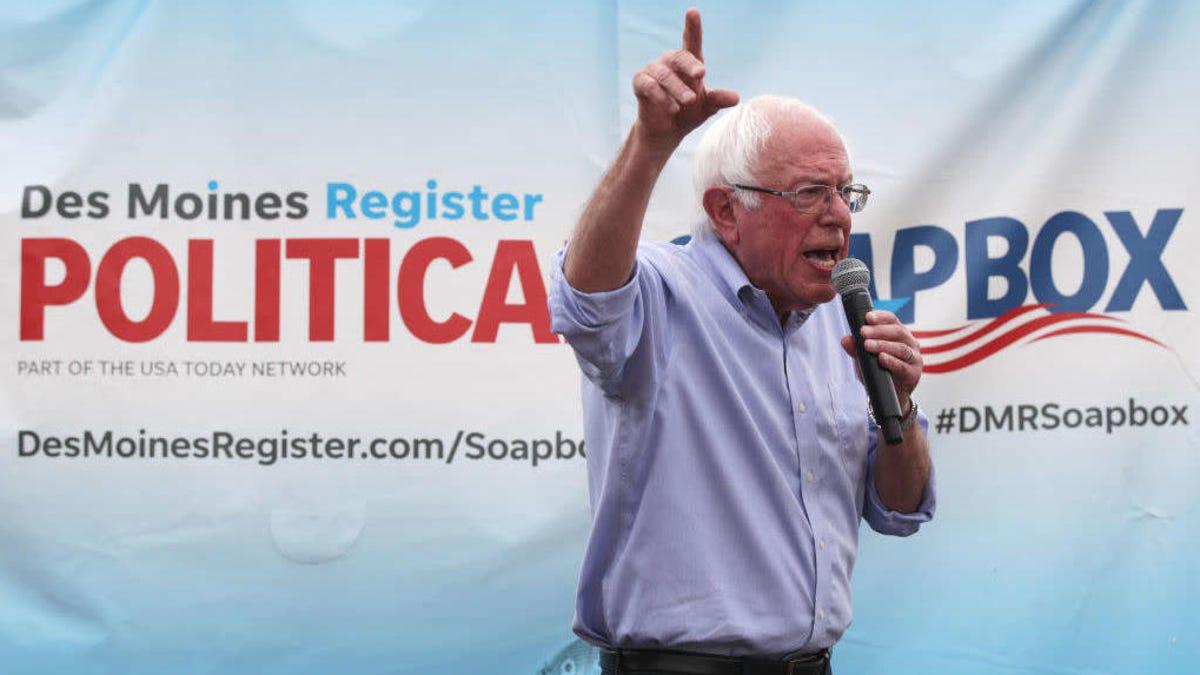 Taking Aim at Amazon and Uber, Sanders Campaign Promises Sweeping Pro-Union Legislation