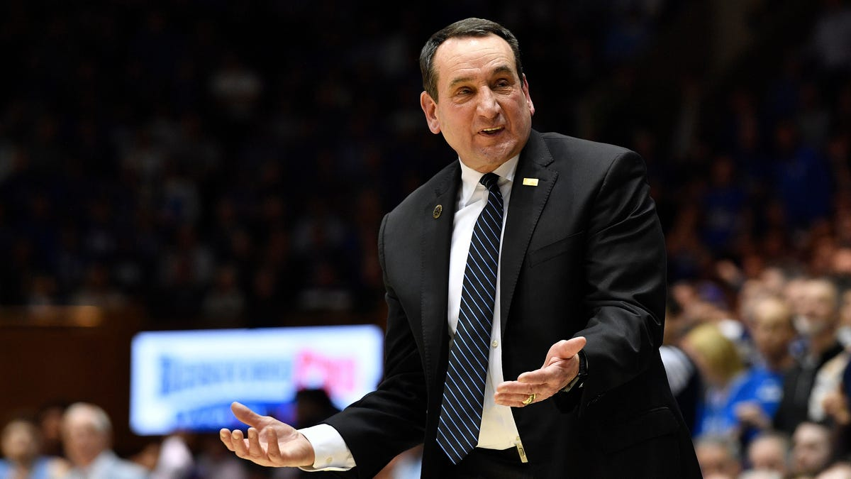 At Duke, it's women doing the right thing while Coach K mouths empty words