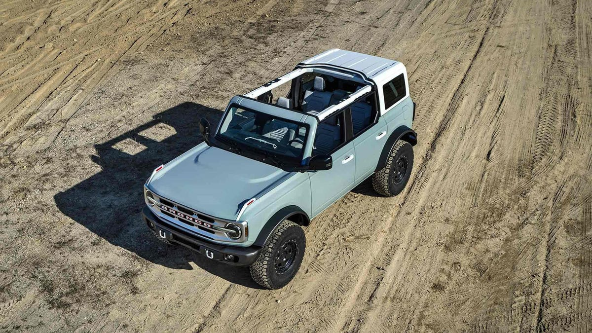 2021 Ford Bronco Neck And Neck With Jeep On Power And MPG: Reports - Jalopnik