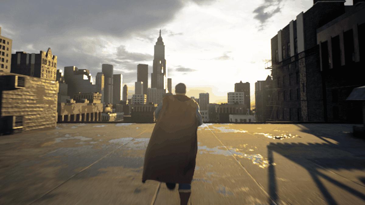 Un desarrollador muestra como luciría un videojuego sobre Superman en Unreal Engine 5