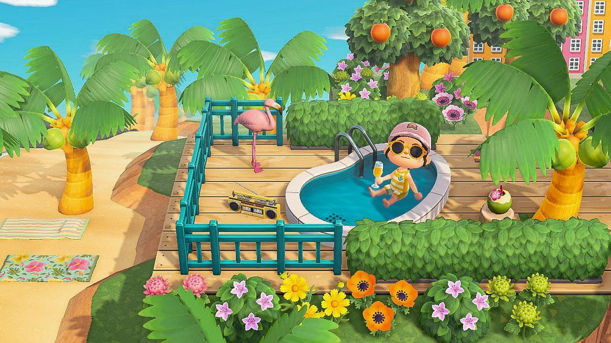 Quick, Take A Dip In Animal Crossing Before Nintendo Fixes The Glitch