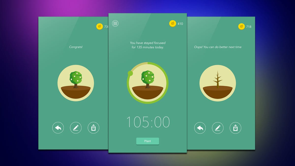 Forest Keeps Your Phone From Being Distracting By Growing a Virtual Garden