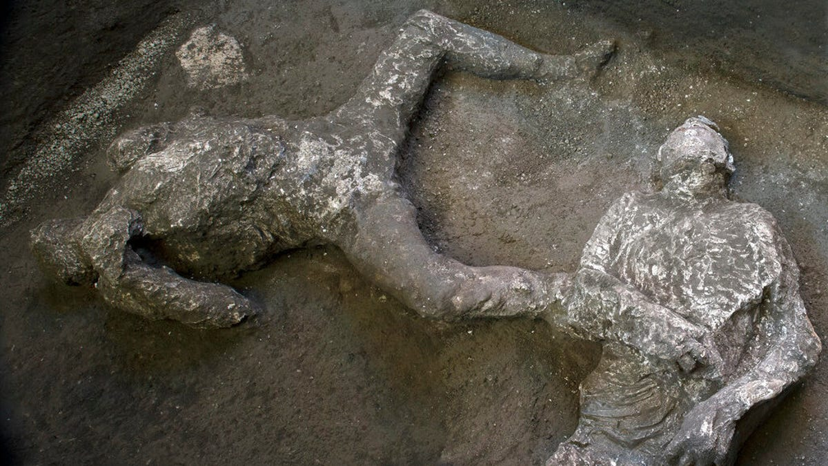 New Remains Found at Pompeii Show the Agony of Mount Vesuvius' Victims