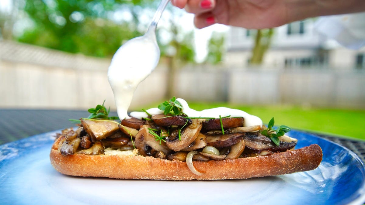 Mushrooms on Toast provide small consolation for missing farmers markets this year