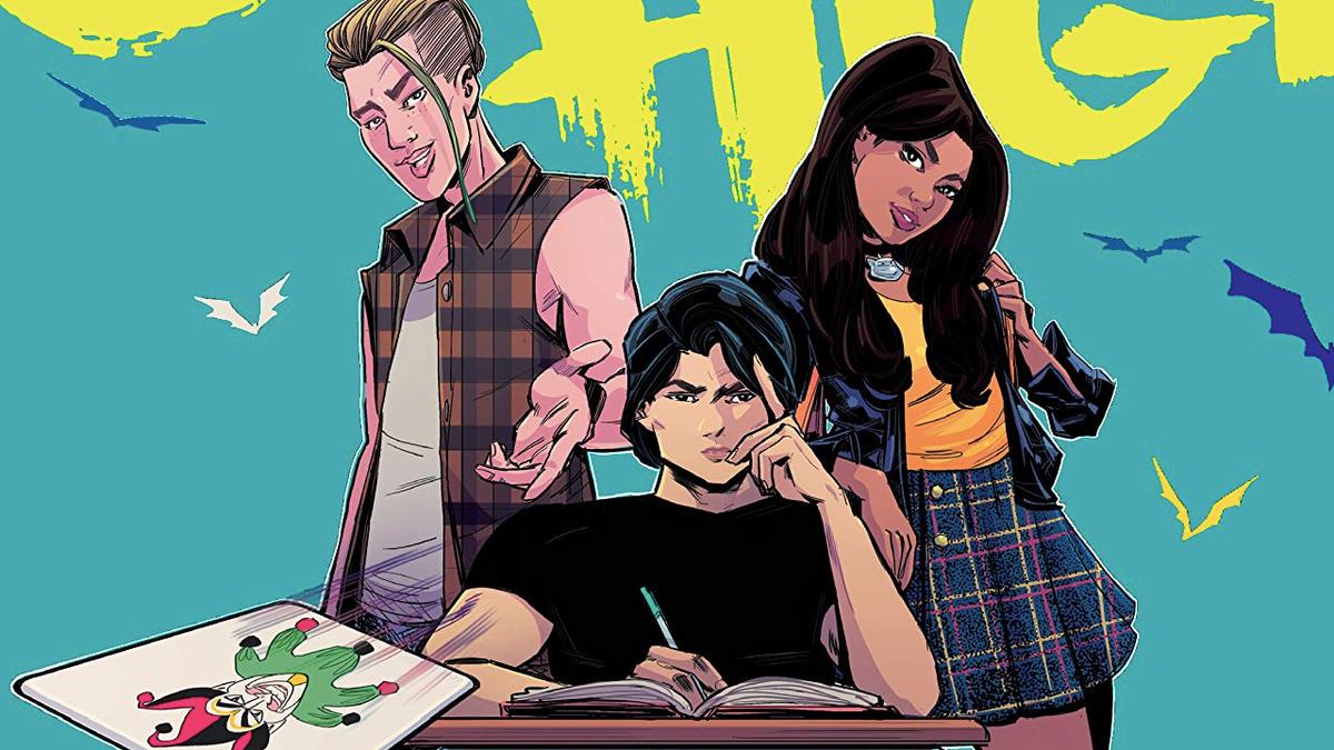 Gotham High Is Sending Batman to High School for Some Teen Drama