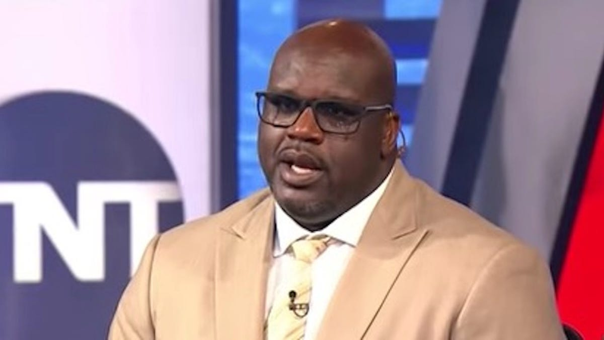 Poor Shaq Is Just There To Get Laughed At Now