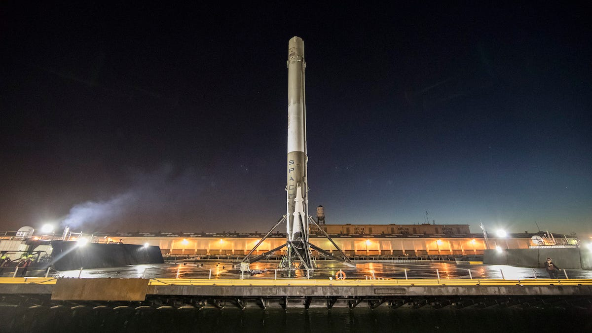 Why Space Fanatics Are Freaking Out About SpaceX's Next Launch