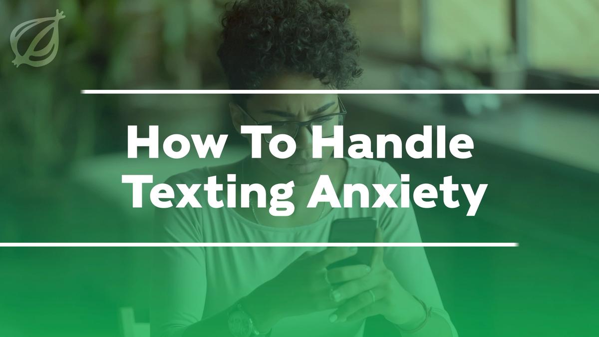 Wie Handhabt SMS Angst