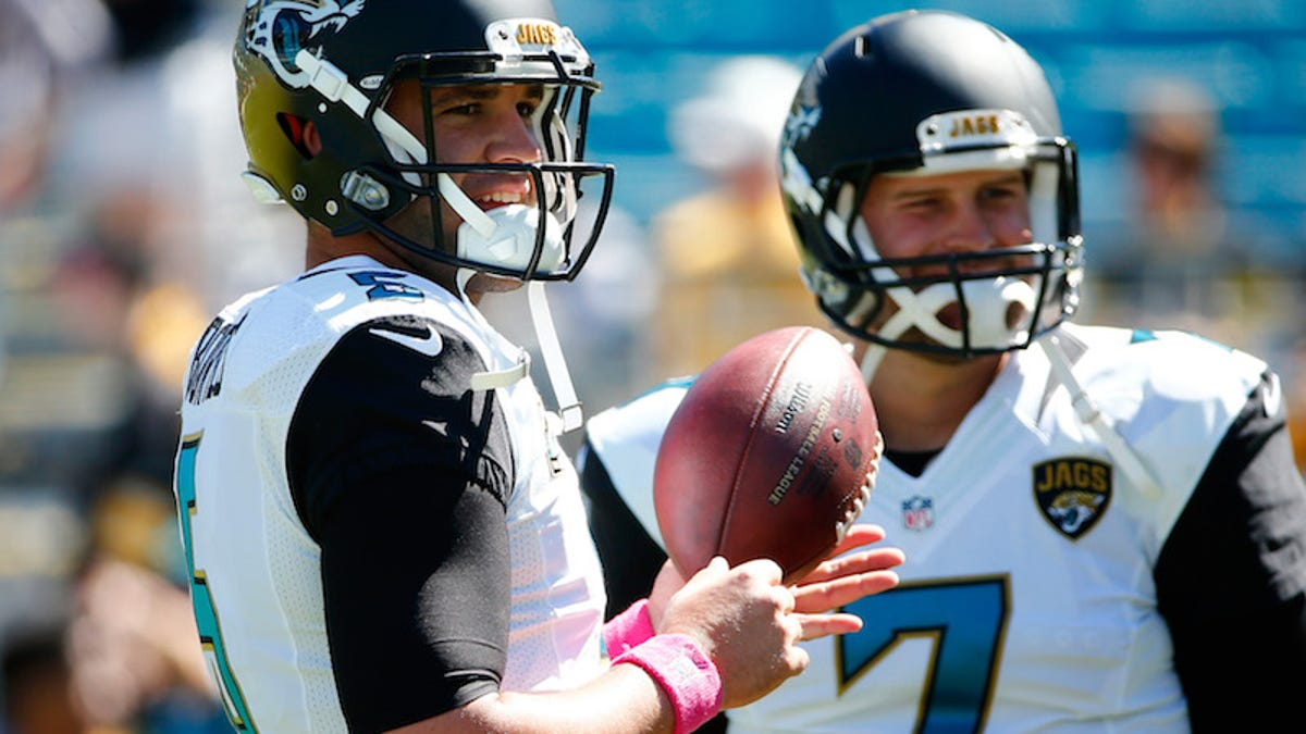 The Jaguars' Shitty QB Situation Has Come To This