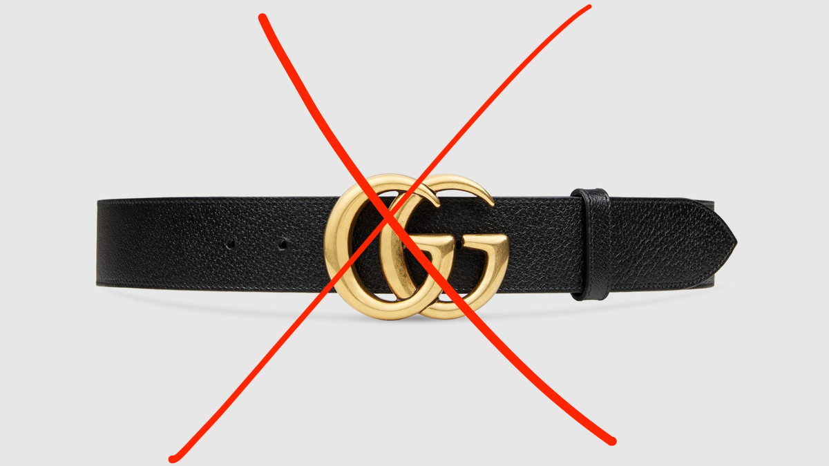 It's Time to Kill the Gucci Belt