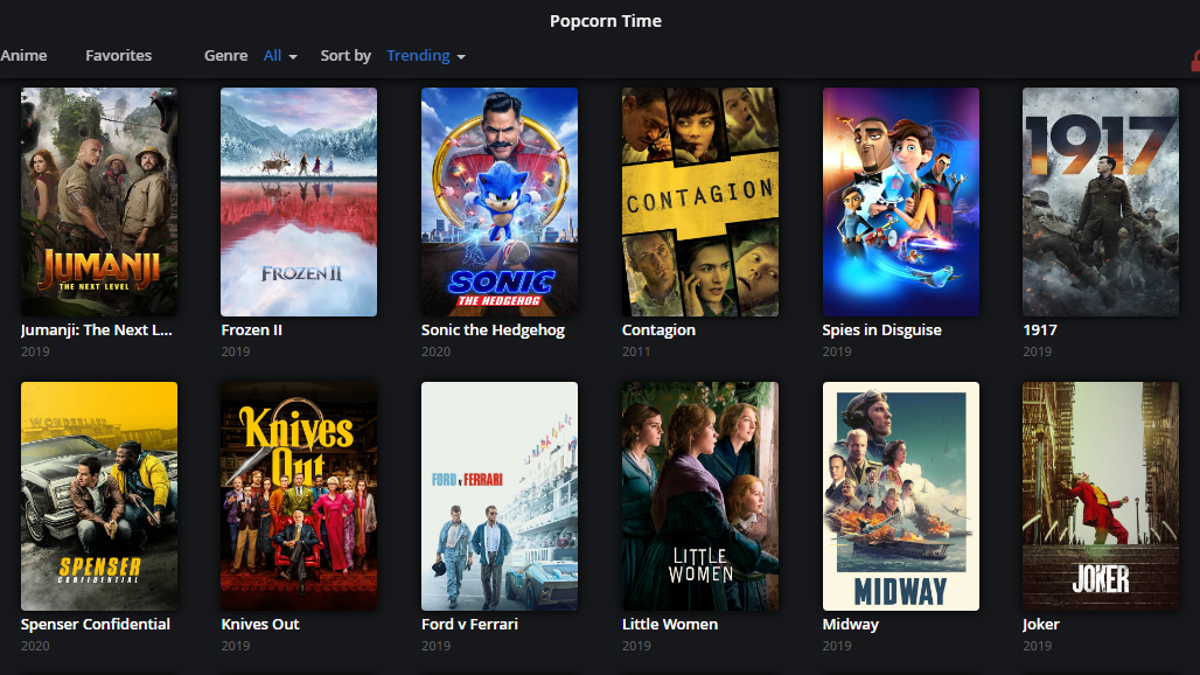 Popcorn Time Is Back to Help You Stream Movies and TV Shows