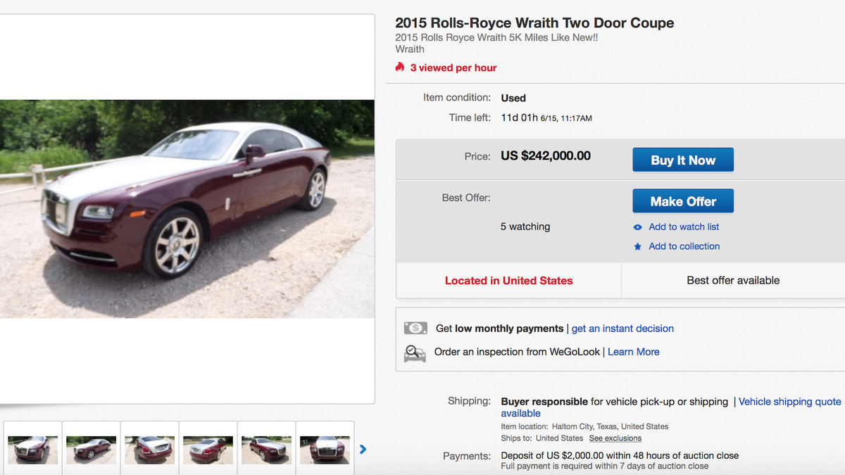 whats   expensive car  sale