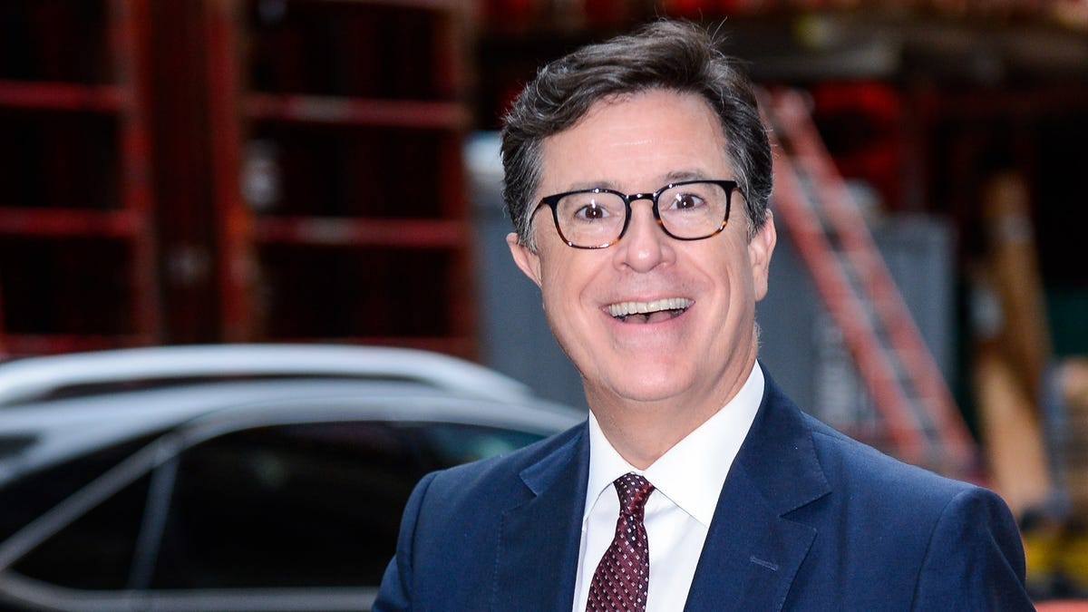 Stephen Colbert gets to stay up late for at least three more years