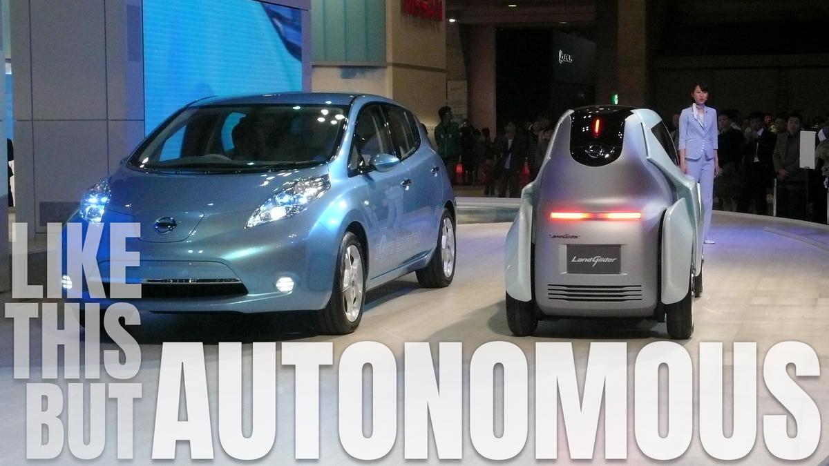 Autonomous Cars Should Be Half As Wide As Normal Cars