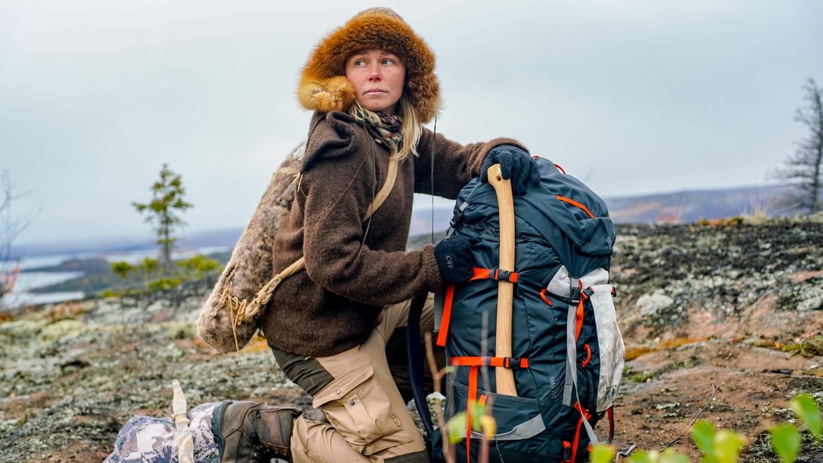 Callie Russell, the Woman You Want If You're Stuck in the Wilderness
