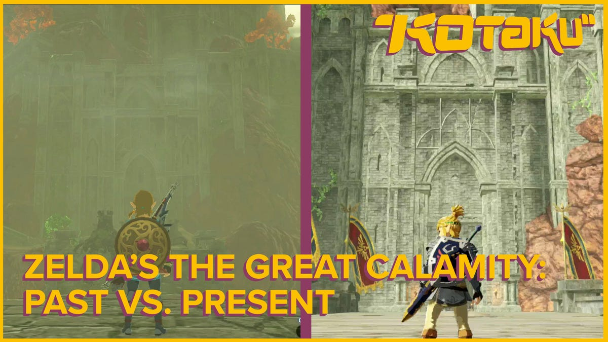 Comparing Hyrule Warriors Age Of Calamity And Zelda Breath Of The Wild