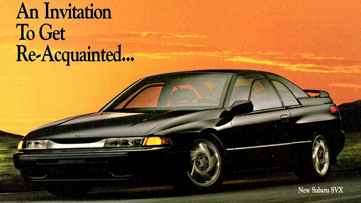 how to make the subaru svx the car it deserves to be  jalopnik