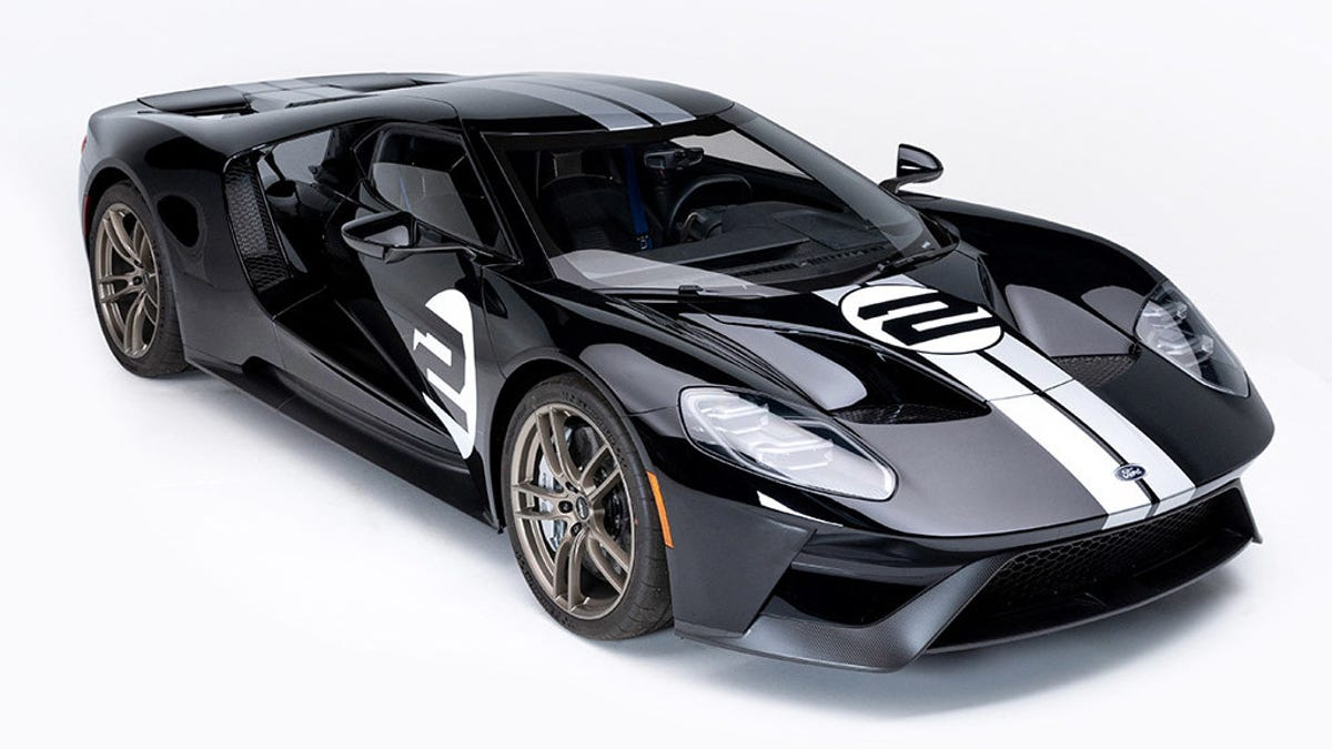 2017 Ford GT Auctions For $1.5 Million After Sitting Around For Two Years