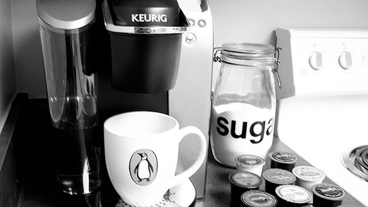 Clean Your Keurig Coffee Maker With A Paper Clip Straw And