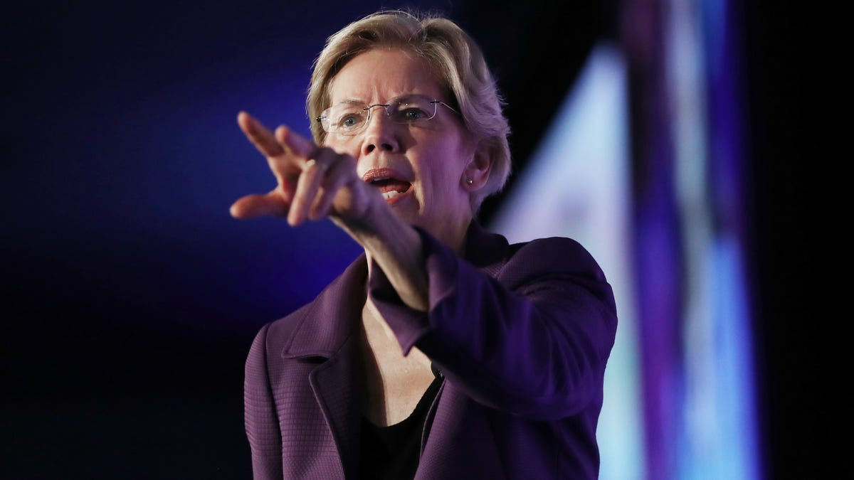 Warren's New Facebook Ads Make False Claims—And That's The Whole Damn Point