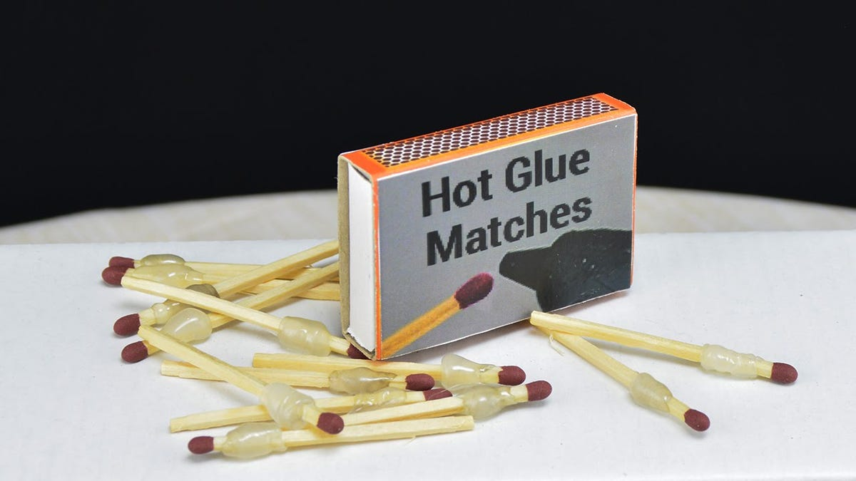 Fix Almost Anything on the Go With These Portable Hot Glue Matches