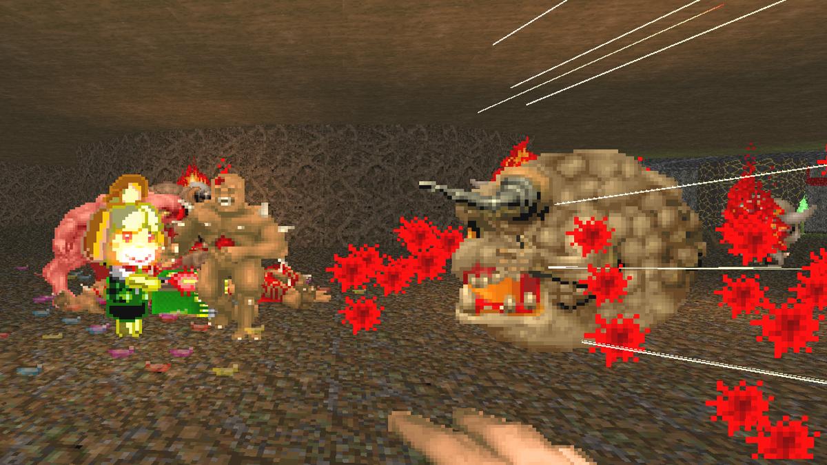 Doom Mod Has Animal Crossing's Isabelle Help You Kill Demons - Kotaku