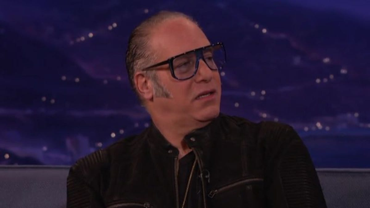 "Andrew Dice Clay accuses Trump of ""stealing his act"" on Conan"