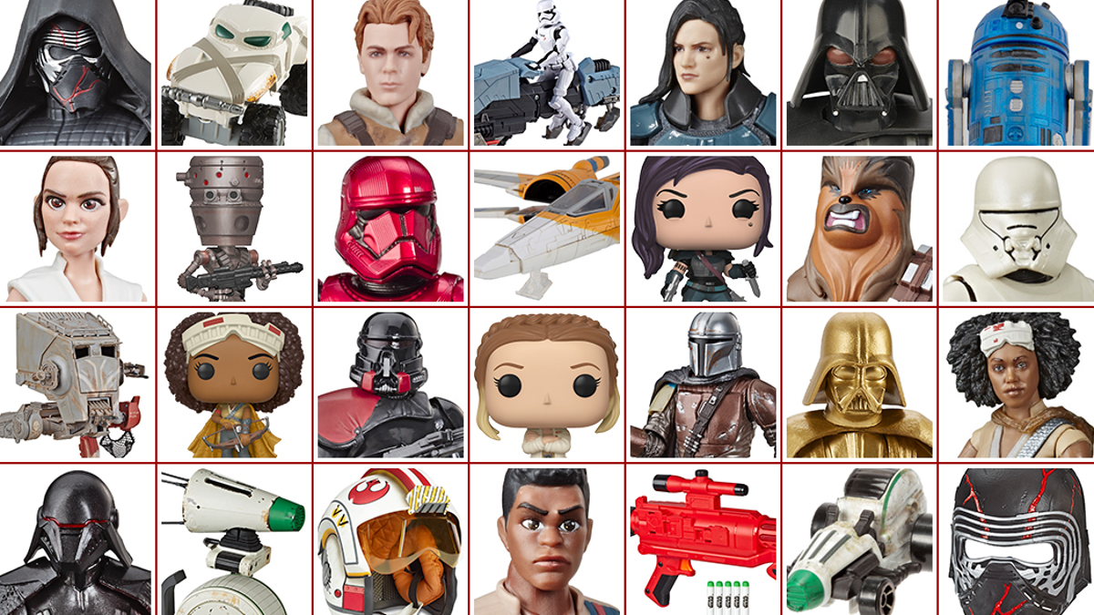 Triple Force Friday All The New Star Wars Toys Disney Revealed