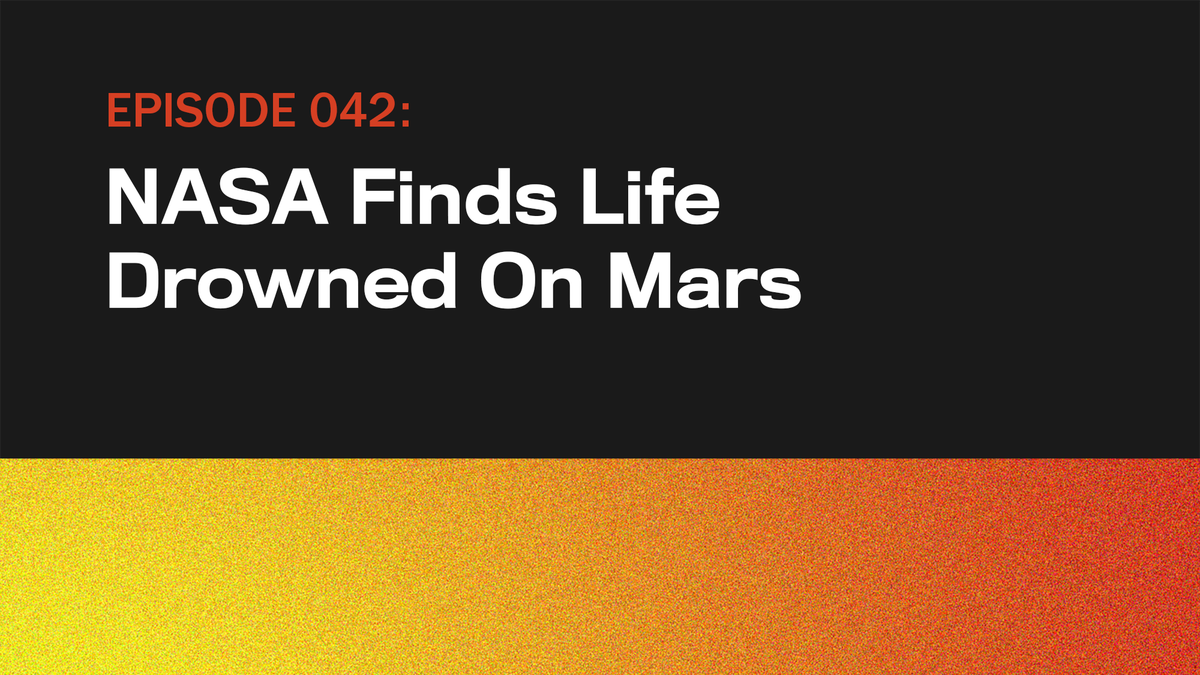 Die NASA Findet das Leben Ertrunken Auf dem Mars