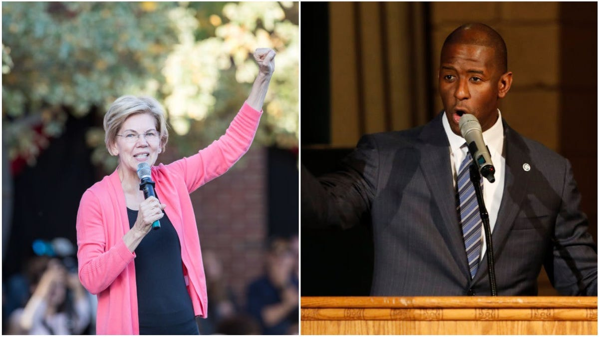 Elizabeth Warren Reportedly 'Courting' Andrew Gillum as Possible VP Pick