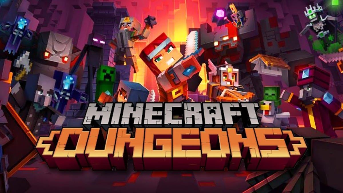 Watch Us Play Minecraft Dungeons thumbnail