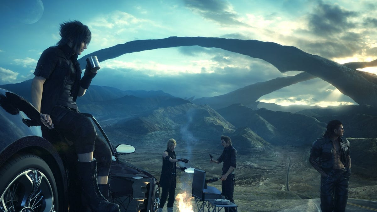 My Nine-Day Final Fantasy XV Blitz Commences Tonight