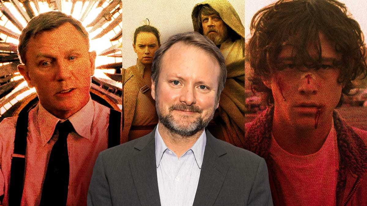 Rian Johnson is a big deal, but he doesn't feel like one