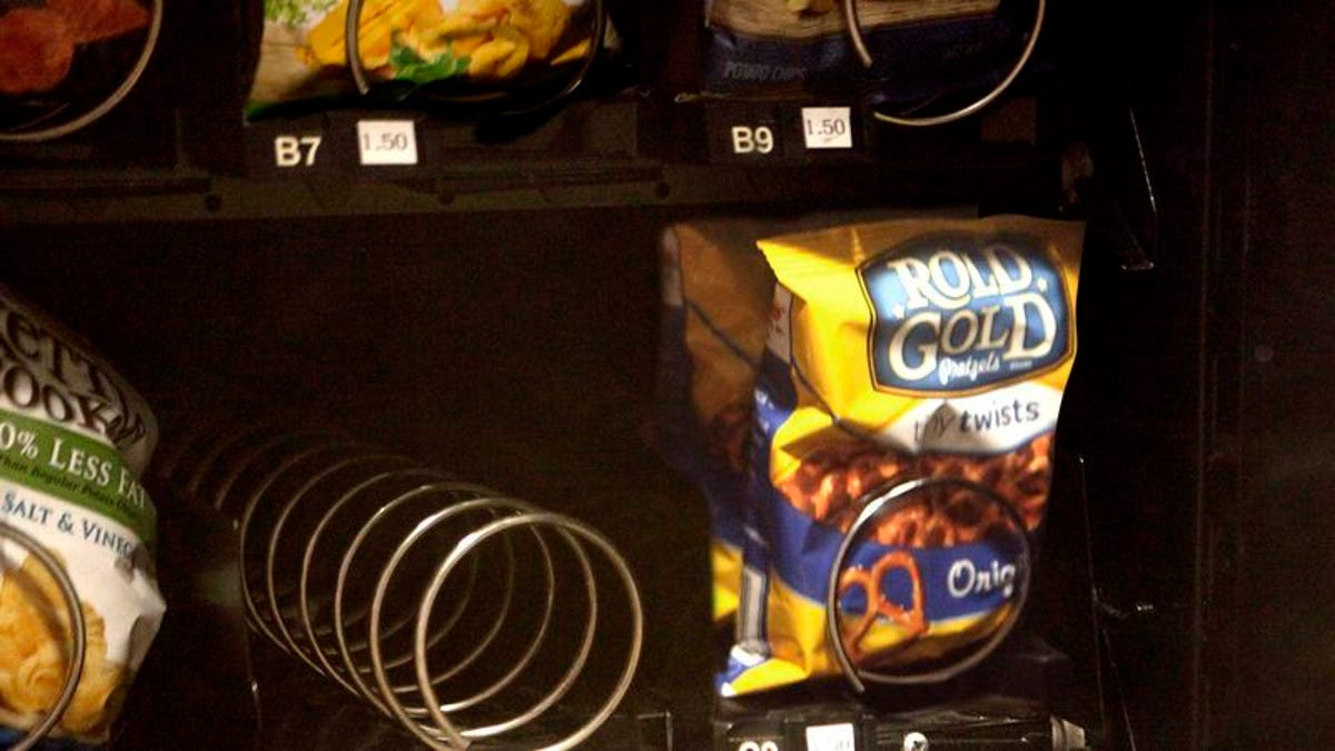 Snack That Resided In Empty Vending Machine Slot Must Have ...