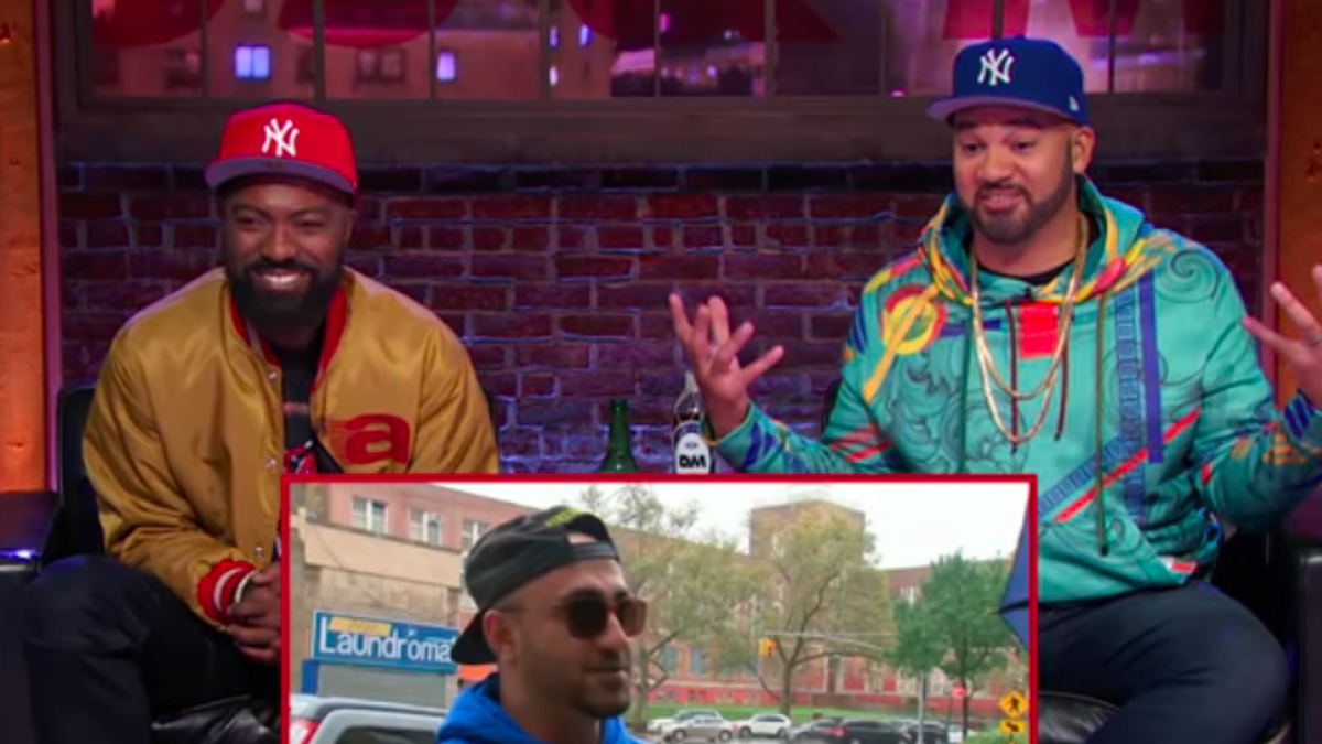 Bronx natives Desus & Mero have a laugh at your new Joker stairs obsession