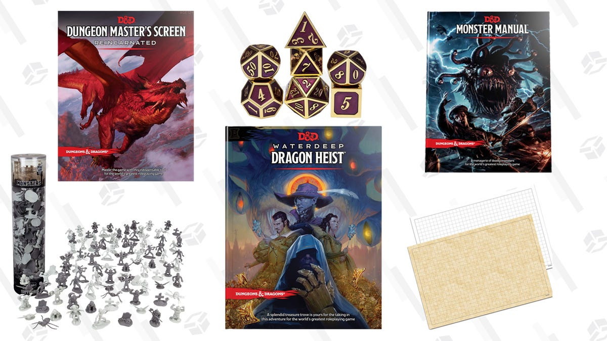How To Be A Dungeon Master The Equipment You Need To Get Started
