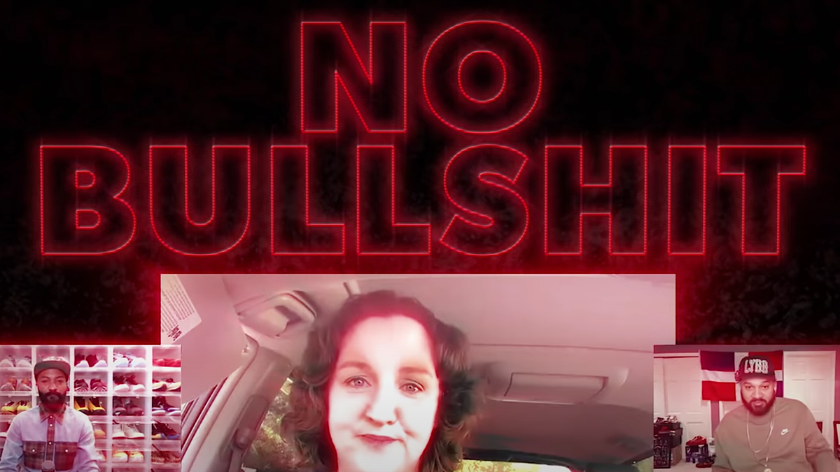 From her minivan, Katie Porter shows Desus and Mero how to run down Trump's unqualified flunkies