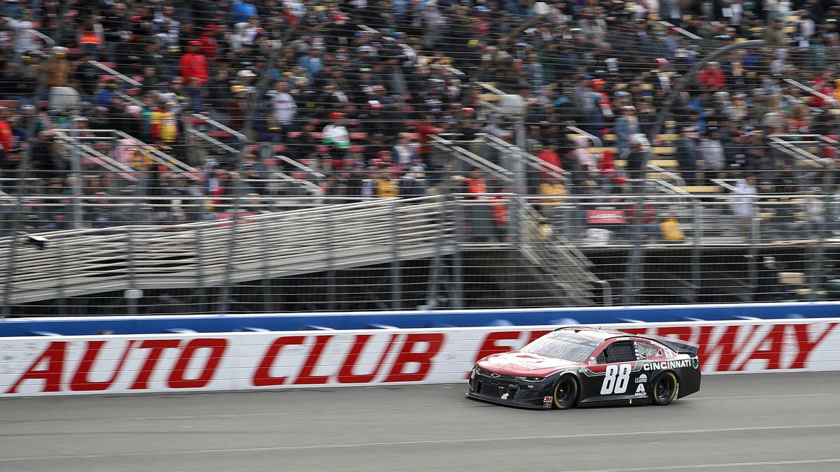 NASCAR Is Turning Auto Club Speedway Into A Short Track