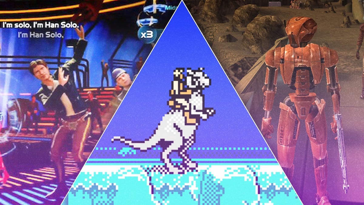 The best, worst, and weirdest entries from nearly 40 years of Star Wars video games