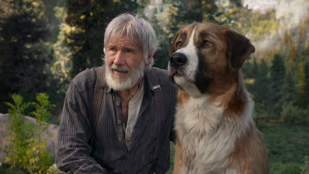 Harrison Ford and Call Of The Wild get lost in the wilds of photorealistic animation