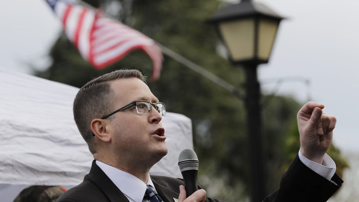 Report Accuses Washington State Rep. Matt Shea of Domestic Terrorism.