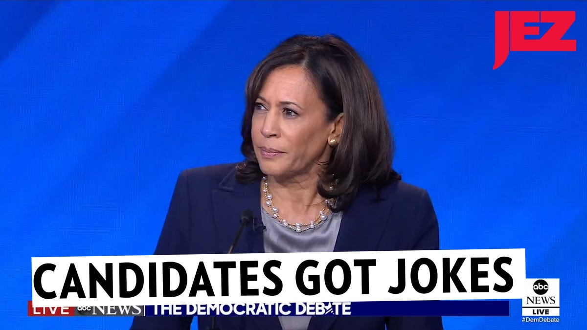 The Democratic Presidential Candidates Are Here to Tell You Some Jokes