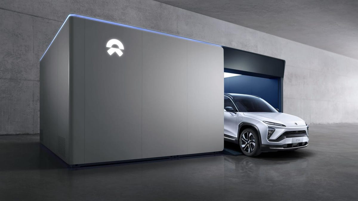 NIO Has Completed 500,000 EV Battery Swaps