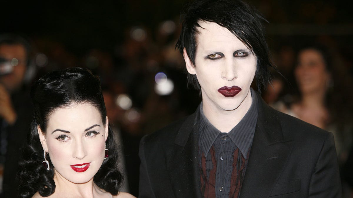 Dita Von Teese speaks out about abuse allegations against Marilyn Manson